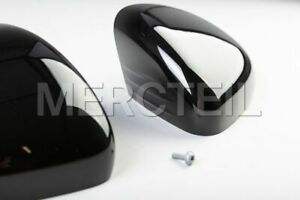 Genuine Mercedes Black Glossy Mirror Covers for A-Class & CLA-Class W177 C118