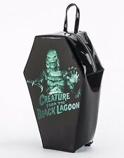 Rock Rebel GG Rose Creature from the Black Lagoon Coffin Backpack Handbag Purse