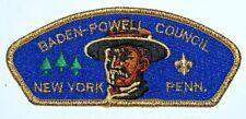 Baden-Powell Council (NY) SA-9 CSP  BSA