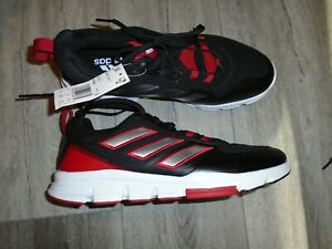 ADIDAS SPEED TRAINER 5 Athletic Shoes Black and Red NWOB Size 10.5