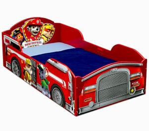 Cama Para Niños De Madera Tipo Paw Patrol Cama Para Niños Toddler Bed Paw Patrol