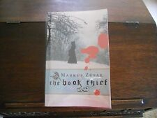 THE BOOK THIEF, Markus Zusak, SIGNED/DATED/DOODLED, true 1st/ed/1st print 2005