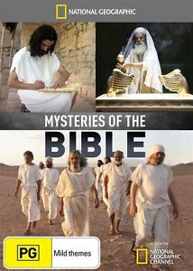 National Geographic - Mysteries Of The Bible dvd - new sealed - pal all region!