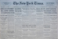 4-1936 WWII April 29 ALLENBY CALLS FOR A WORLD STATE AND POLICE FORCE KEEP PEACE