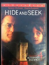 Hide and Seek (DVD, 2005) Widescreen - Robert DeNiro Dakota Fanning