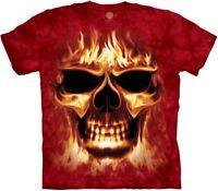 Skulfire Fantasy T Shirt Adult Unisex The Mountain