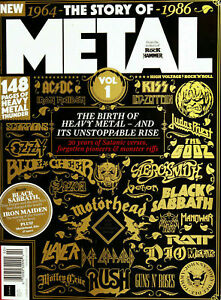 THE STORY OF METAL VOL.1 FROM CLASSIC ROCK & METAL HAMMER MAGAZINES...NEW