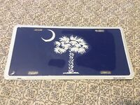 New, Sealed SC South Carolina Palm & Crescent Moon Tag Vanity Front Plate USA