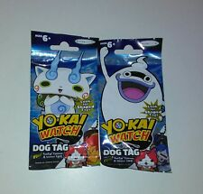 Yo-Kai Watch Collector Dog Tag Series 1 Sealed Pack Lot Of 2 Packs Free S&H Too!
