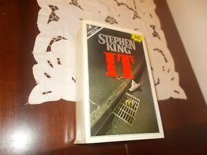 IT - STEPHEN KING - ROMANZO - BEST SELLER - SPERLING & KUPFER - 1987