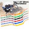 28mm 1-1/8'' CNC Motorcycle Handlebar Dirt Pit Bike ATV Quad Motocross Enduro