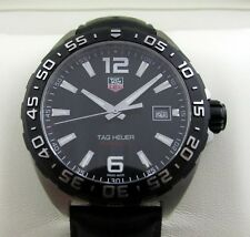 Tag Heuer F1 Formula One Gents Watch Black WAZ1110 RRP £850 Boxed & Papers