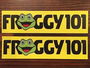 "(2) Froggy 101 Sticker Decal - 7.75"" - The Office Dwight Schrute Michael Scott"