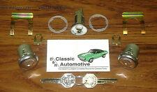 Lock Set Ignition/ Door GM Key 11pc Kit Camaro Chevelle Nova Impala Pickup locks