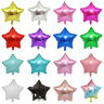 Day Christmas Supplies Birthday Party Decorations Heart Shape Star Foil Balloon