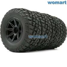 4pc RC 2.2/3.0 Short Course Reifen Tires & Felge Rims For 1/10 Traxxas Slash Car