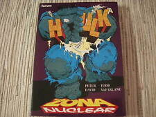 COMIC HULK ZONA NUCLEAR OBRAS MAESTRAS Nº 7 MARVEL -PLANETA DE AGOSTINI USADO
