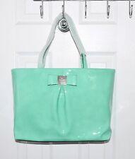 Kate Spade Veranda Place Patent Leather Bag Small Evie Freshair Green