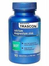 ZINK + KALZIUM + MAGNESIUM - 90 Tab VEGAN VEGETARISCH *Premium-Qualität* Calcium