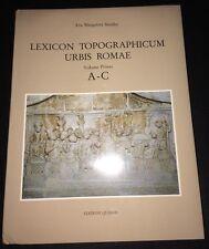 Lexicon Topographicum Urbis Romae: Volume Primo A-C - NEW