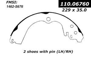 Centric Rear Brake Drum Shoes Set Pads 95-05 Subaru Impreza Forrester Legacy