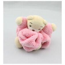 Doudou petit ours Plume rose KALOO - Ours Classique