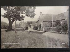 Dorset BURTON BRADSTOCK Parish Pump c1961 RP Postcard by J. Woolverton BPT.7