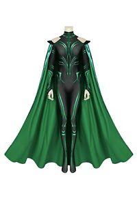 THOR 3 Ragnarok Trailer Hela Jumpsuit Outfits Halloween Cosplay Costume