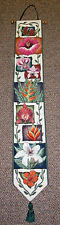 Tropical Studio Floral Tapestry Wall Hanging Bellpull