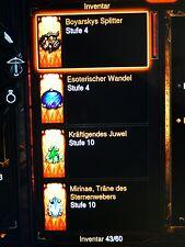 Diablo 3 Ros - Legendäre Edelstein / Gems + Gold - Nintendo Switch