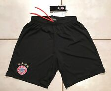 NWT ADIDAS Bayern Munich BLACK Away Shorts Men's Small