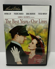 The Best Years of Our Lives Dvd 2013 Myrna Loy Fredric March