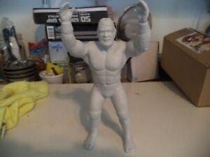 Haku WWF WWE LJN Clean Resin Copy Wrestling Action Figure