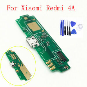 Micro USB Charge Charging Connector Port Flex Cable For Xiaomi Redmi 4A w tools
