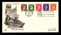 Canada 1954 QEII Series FDC / Art Craft / Stamped Address - L12385
