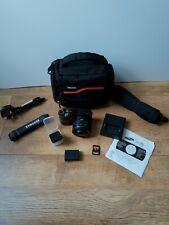 Samsung NX NX1000 20.3MP Digital Camera - Black (Kit w/ NX 20-50mm Lens)
