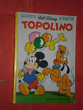 WALT DISNEY -TOPOLINO libretto- n°1126 b- (L) - originale mondadori- anni 60/70