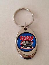 Chevrolet Van Keychain Chrome key chain Chevy