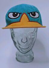 Phineas & Ferb Perry The Platypus Secret Agent P Spy Hat Disney Snapback