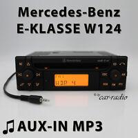 Mercedes Audio 10 CD MF2910 AUX-IN MP3 W124 Radio E-Klasse S124 CD-R Autoradio