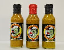 TAILGATER'S BEER MUSTARD COMBO PACK 15 OZ BOTTLES,  2-ORIGINAL 1-HOT
