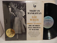Lee Wiley Night in Manhattan Shrink Collector's Choice JCL 656 Clean NM LP