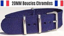NATO ★ 20MM ★ N°16 ★ Bracelet montre Watch Band Strap Nylon Military Army 007