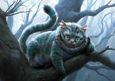 Cheshire cat Alice in wonderland Photo Poster Print ONLY Wall Art A4