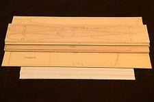 Rc Trainer Plane SWEET STIK Laser Cut Short Kit & Plans, 52 in. wing span