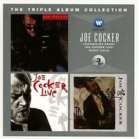 JOE COCKER - THE TRIPLE ALBUM COLLECTION 3 CD NEW+