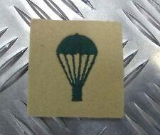 British Army Paracadute/Para/abilità/Quali Distintivo Verde su Mais