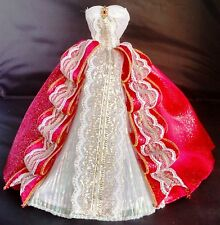 Dress Barbie doll Holiday Ball Gown Red