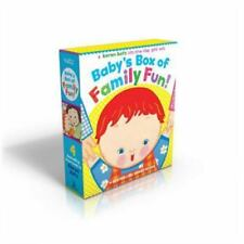 Baby's Box of Family Fun Set by Karen Katz (2006, Board Book, Gift, Combined...
