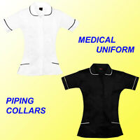 NURSES HEALTHCARE NURSE TUNIC UNIFORM HOSPITAL MAID CARER THERAPIST DENTAL